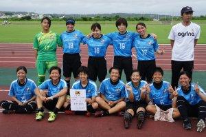 沖縄県女子サッカーを盛り上げるクラブです。